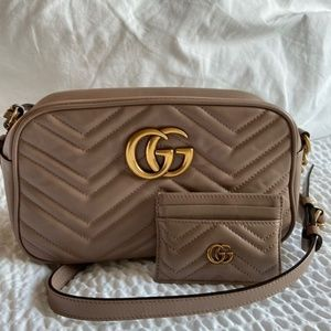 Gucci Marmont Small Bag with Card Case